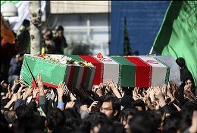 پیكر پدر 3 شهید سرافراز وطن در فومن تشییع میشود