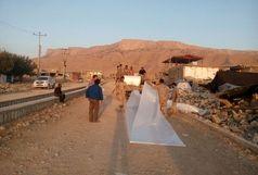 آغاز بازسازی مناطق زلزله زده با تمام قدرت در کمتر از 6 روز / عملیات منظم  سپاه ،ارتش و هلال احمر در کرمانشاه