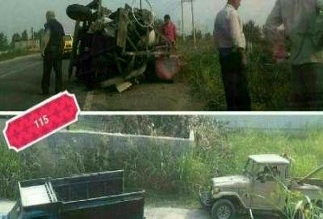 سانحه رانندگی مرگبار در استان مازندران