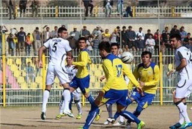پیروزی نفت مسجد سلیمان در برابر منتخب لرستان
