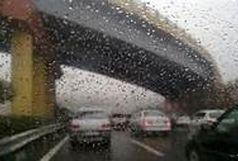 بارش باران و تگرگ در کشور