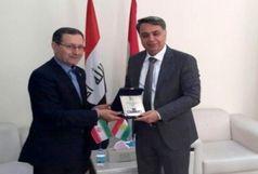 نشست رئیس دانشگاه فردوسی مشهد با وزیر علوم اقلیم کردستان عراق