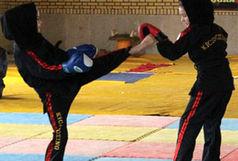 درخشش بانوان کیگ بوکسینگ کار استان در مسابقات قهرمانی کشور