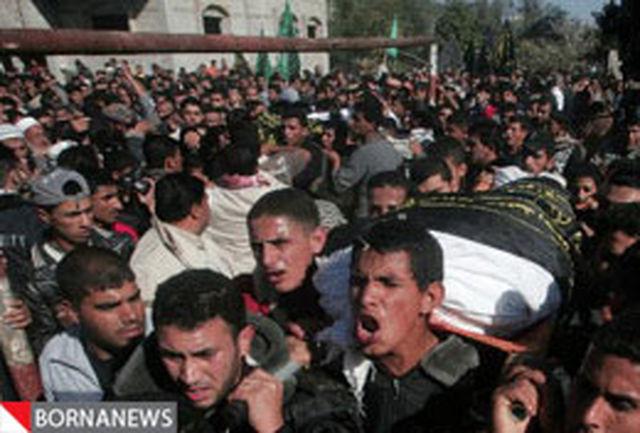 شهادت دو رزمنده فلسطینی