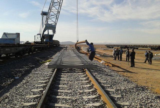 پیشرفت فیزیکی ۳۵ درصدی راهآهن چابهار- ایرانشهر