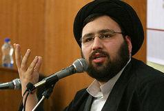 حجت الاسلام سیدعلی خمینی در راهپیمایی روز قدس شرکت کرد