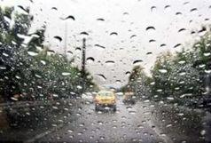 بارش پراکنده باران در 6 استان