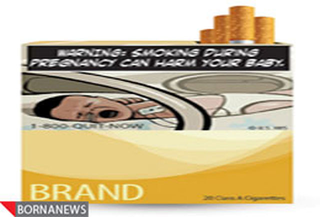 در آمریکا با عکس سیگاری ها را می ترسانند