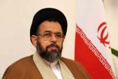 عیادت وزیر اطلاعات از آتش نشان مصدوم