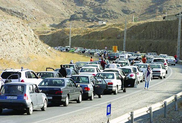 ترافیک سنگین و نیمهسنگین در برخی محورهای البرز، مازندران، تهران، قم و خراسان رضوی