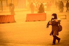 وقوع گرد و غبار مدارس اهواز و آبادان را تعطیل کرد