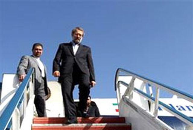 رییس مجلس شورای اسلامی وارد اردبیل شد