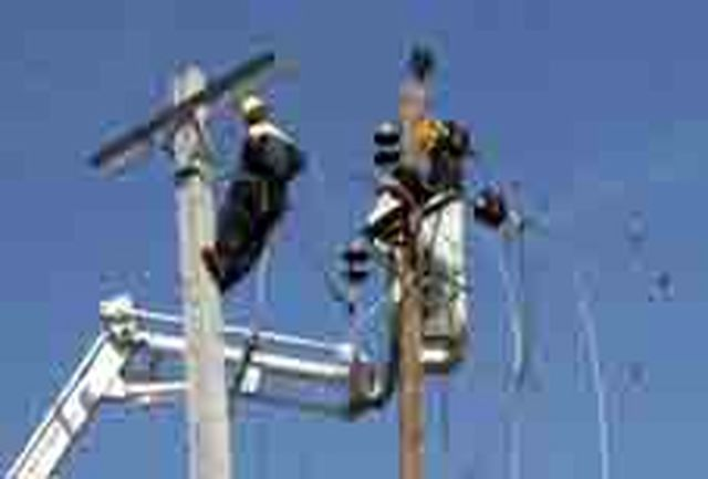 تعمیر و اصلاح پنج کیلومتر از خط 20 کیلوولت حسامآباد شهرستان اسدآباد