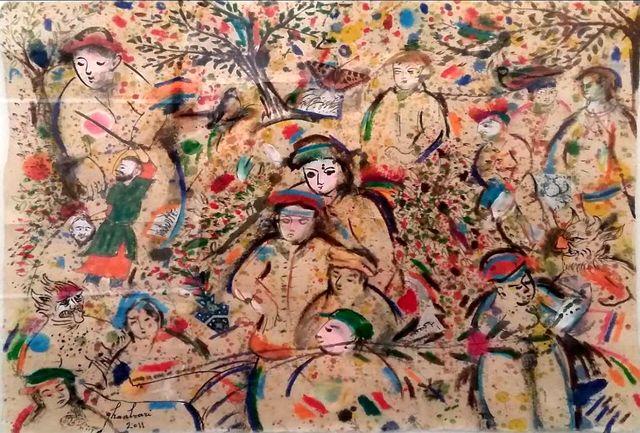 نمایشگاه نقاشی «داوود قنبریها» در گالری «آس» تهران برپا میشود