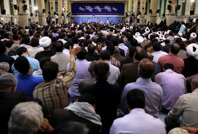 پخش مشروح دیدار قشرهای مختلف مردم با مقام معظم رهبری