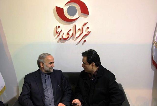 فرماندار شهرستان شمیرانات در غرفه خبر گزاری برنا حضور یافت