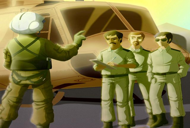 """تولیدانیمیشن """"زندگی خلبان شهید چاغروند"""" در واحد هنرهای تصویری حوزه هنری لرستان"""