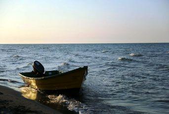 سواحل دریای خزر در تعطیلات نوروز- نمک آبرود