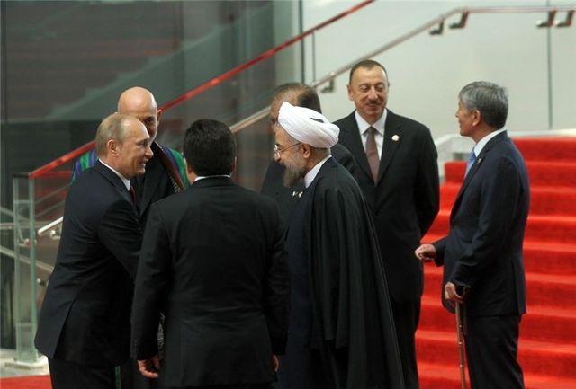 رؤسای  جمهور ایران، روسیه و آذربایجان با یکدیگر دیدار می کنند