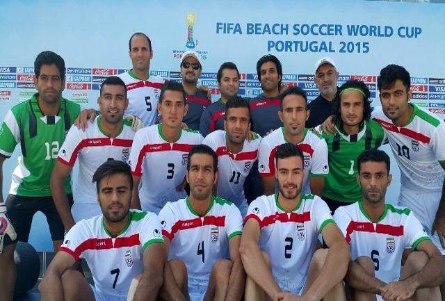 ساحلی بازان ایران جوانترین تیم جام جهانی شدند
