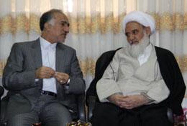 استاندار كرمانشاه با نماینده ولی فقیه در استان دیدار کرد