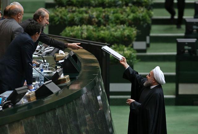 رئیس جمهور ۱۴ آذر ماه برای ارائه لایحه بودجه ۹۶ به مجلس می آید