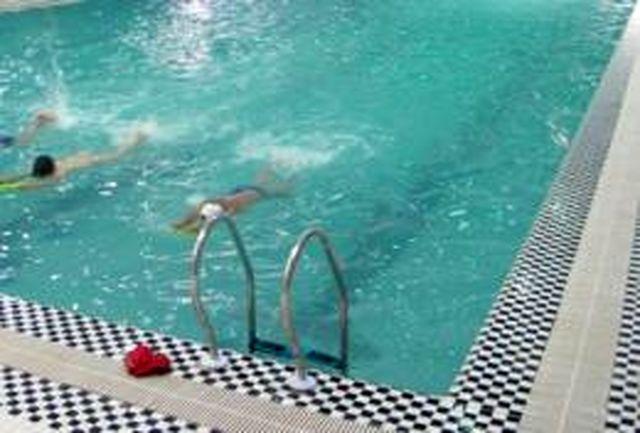 عملیات اجرایی نخستین استخر شنای خوسف به پایان میرسد