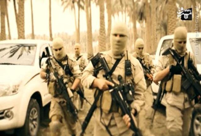 تمرین نظامی داعش در لبنان