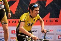 دوچرخه سوار سپاهان، رکورد ایران را شکست