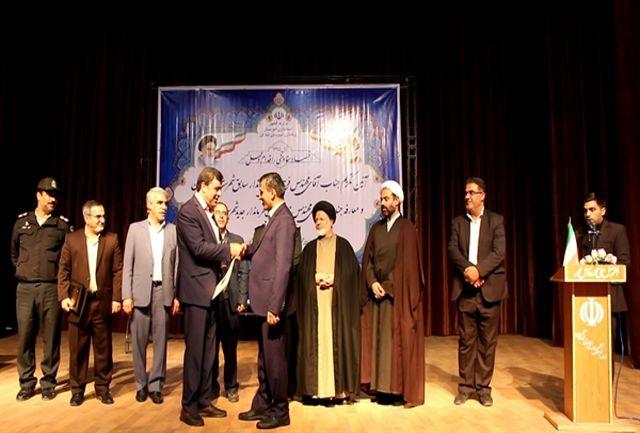 احمد جعفری نسب رسما فرماندار شادگان شد