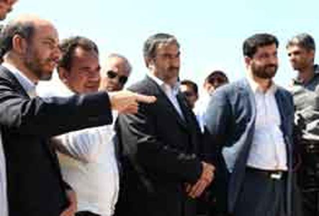 دستیار ویژه رییس جمهور از روند پیشرفت پل خلیج فارس بازدید کرد