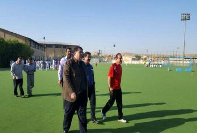 مدیر کل ورزش و جوانان استان از مجموعه ورزشی شهید بشارت گچساران دیدن کرد