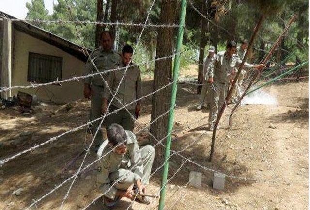 رفع تصرف 3 هکتار از اراضی ملی منطقه حفاظت شده جاجرود
