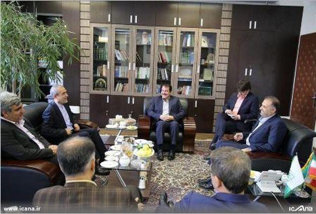 رایزنی استاندار ایلام با رئیس مرکز پژوهش های مجلس برای تصویب منطقه آزاد مهران