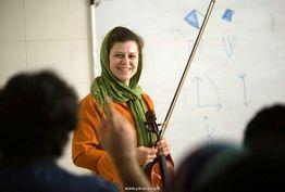 مَسترکلاس و اجرای نوازنده ویولن آلمانی در ایران