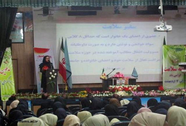 همایش سفیران سلامت و نهادهای اجتماعی در پارسیان برگزار شد