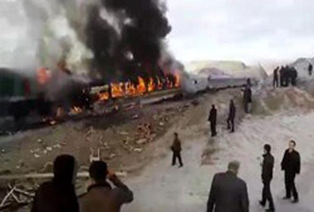 دولت در حادثه قطار تبریز- مشهد به موقع اقدام کرد/ برای اولین بار یک مدیر پس از اشتباه استعفا داد