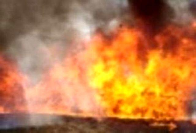 آتش سوزی در مغازه خشكشویی با خسارتی بالغ بر 700 میلیون ریال