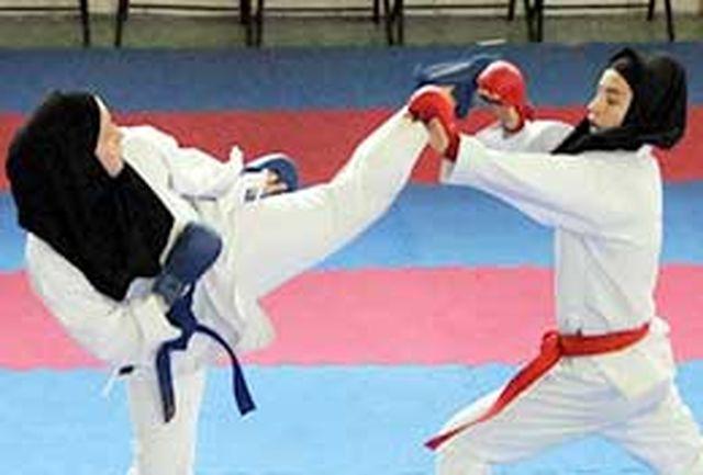 درخشش بانوان البرزی در مسابقات کاراته قهرمانی کشور