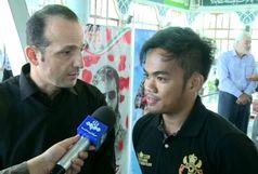 تکواندو کار مسیحی اهل فیلیپین امروز در رشت به دین مبین اسلام مشرف شد