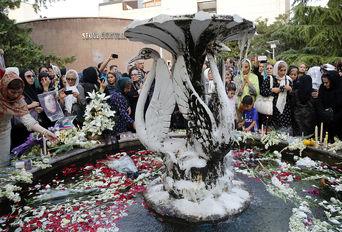 مراسم یادبود پرفسور مریم میرزاخانی در خانه ریاضیات تهران