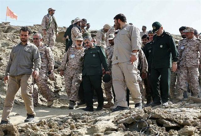 امروز انجام شد؛ بازدید فرمانده سپاه از مناطق زلزلهزده