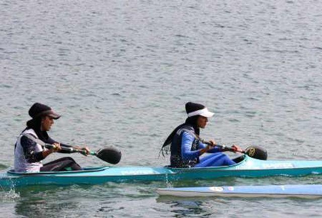 اردوی تیم ملی آبهای آرام بانوان در سد آیداغموش میانه آغاز شد