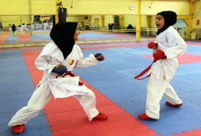 ایثار نماینده قم در لیگهای کاراته بانوان ایران
