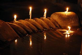 شام غریبان در تهران، شمع هایی که برای اهل بیت حسین (ع) سوختند