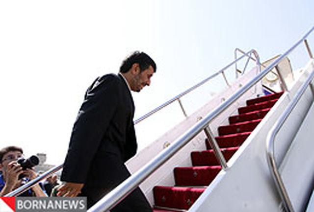 رییس جمهور استان مرکزی را به مقصد تهران ترک کرد