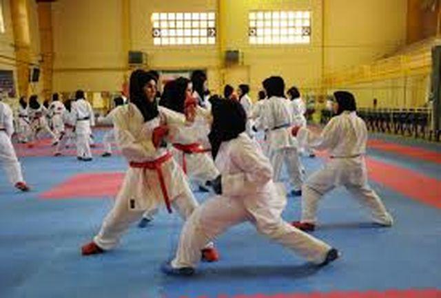 ادامه مبارزه کاراته کاهای لیگ جوانه بانوان در مرحله دوم
