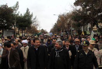 راهپیمایی ۲۲ بهمن - بجنورد