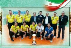 نایب قهرمانی شرکت توزیع نیروی برق آذربایجان غربی در مسابقات والیبال وزارت نیرو