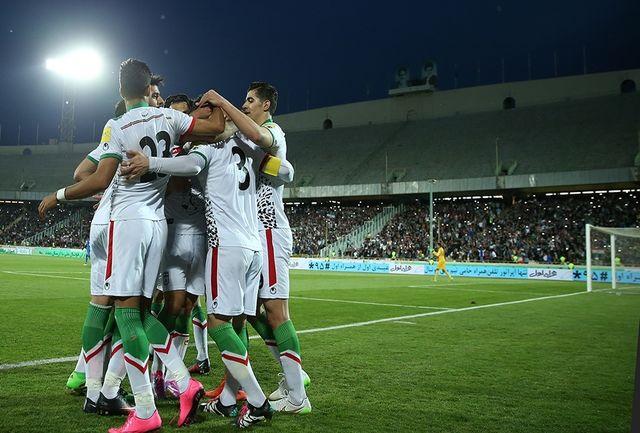 بازتاب پیروزی ایران در صفحه اینستاگرام AFC